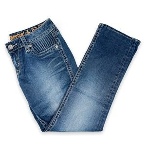 Rock Revival straight leg Gia blue jeans, size 29